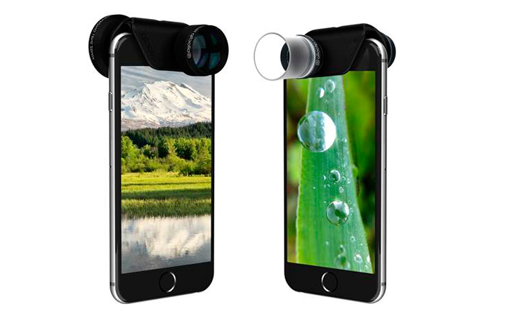New Olloclip Telephoto Lens and Macro 3-IN-1 Photo Lens for iPhone 6 and 6 Plus