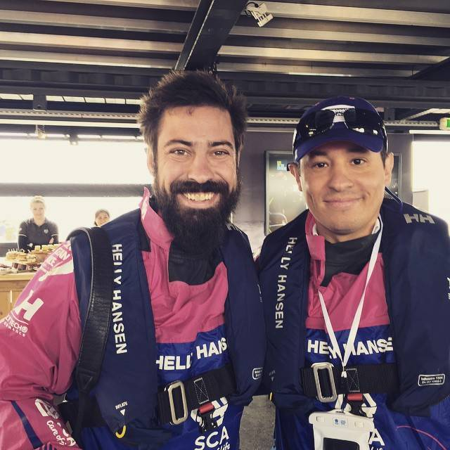 Instagramers is partnering with Team SCA during the Volvo Ocean Race