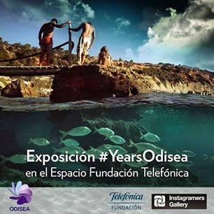 Exposición #yearsOdisea en la Instagramers Gallery de Madrid