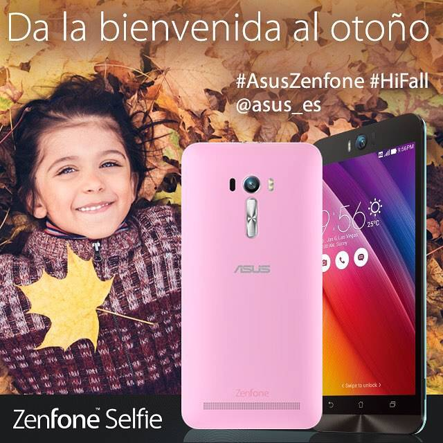 Da la bienvenida al otoño y gana un Asus ZenFone Selfie en Instagram