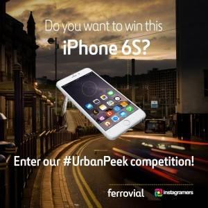 Ferrovial instagram contest urbanpeek
