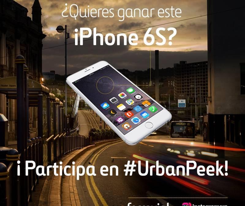 Gana un iPhone 6S en Instagram participando en el concurso de #UrbanPeek de Ferrovial