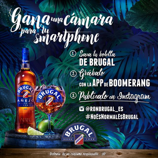 #NoEsNormalEsBrugal vuelve con un nuevo concurso en Instagram