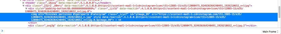 2- Copy the photo URL