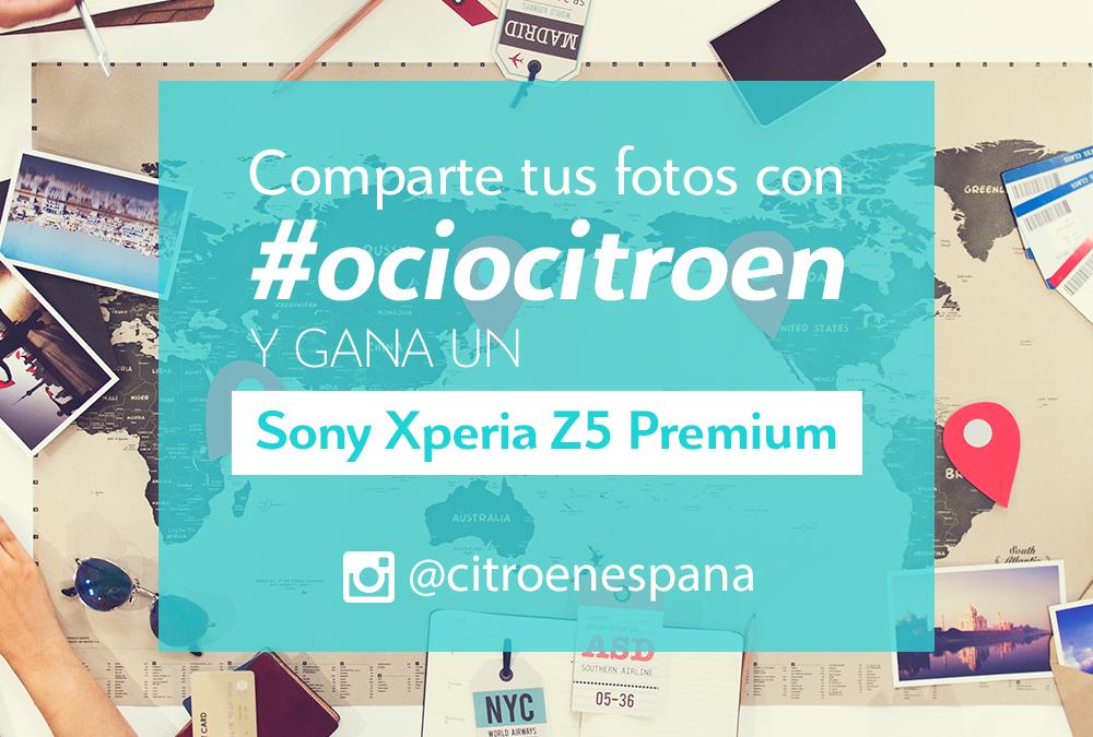 ¡Participa en el concurso #ociocitroen en Instagram y gana un Xperia Z5!