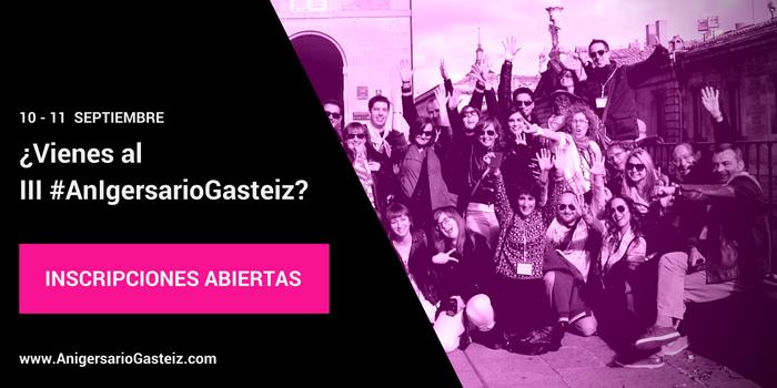 ¡No te pierdas el Instameet #AnIgersario en Gasteiz !