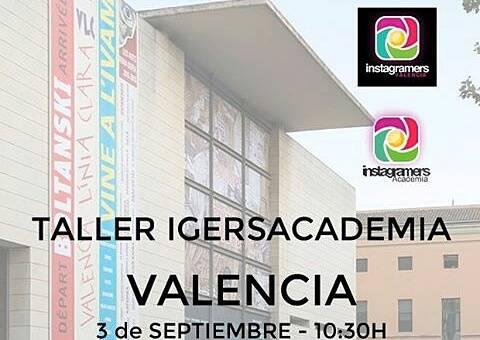 Los talleres de la Igers Academia llegan a Valencia el 3 de septiembre