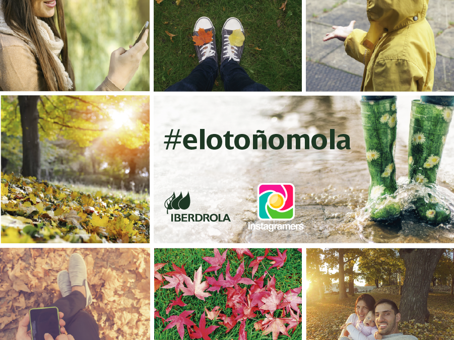 Gana una cámara 360 con el concurso #ElOtoñoMola de Iberdrola en Instagram
