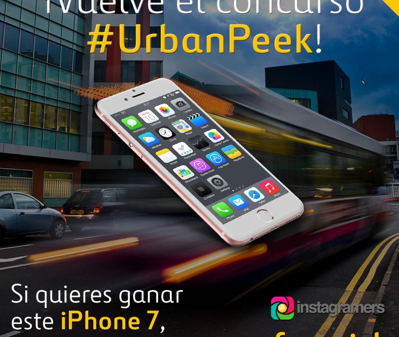 ¡Participa en la segunda edición de #urbanpeek de @ferrovial y gana un iPhone7!