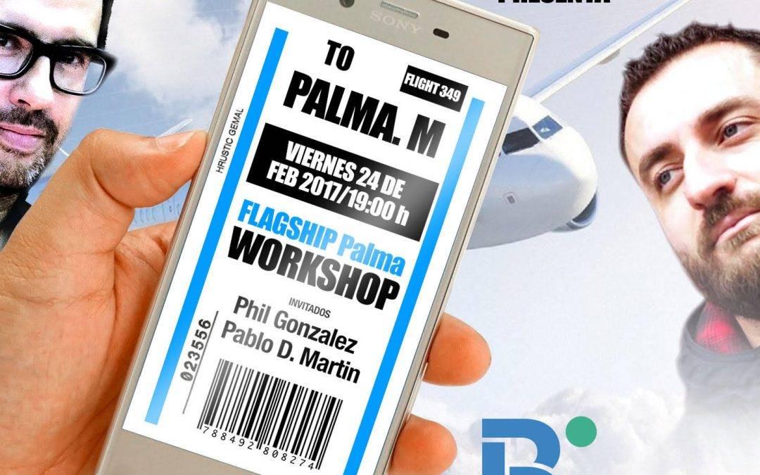 Workshop #XperiencePalma con Instagramers Balears en la flagship de @BtheTravelBrand