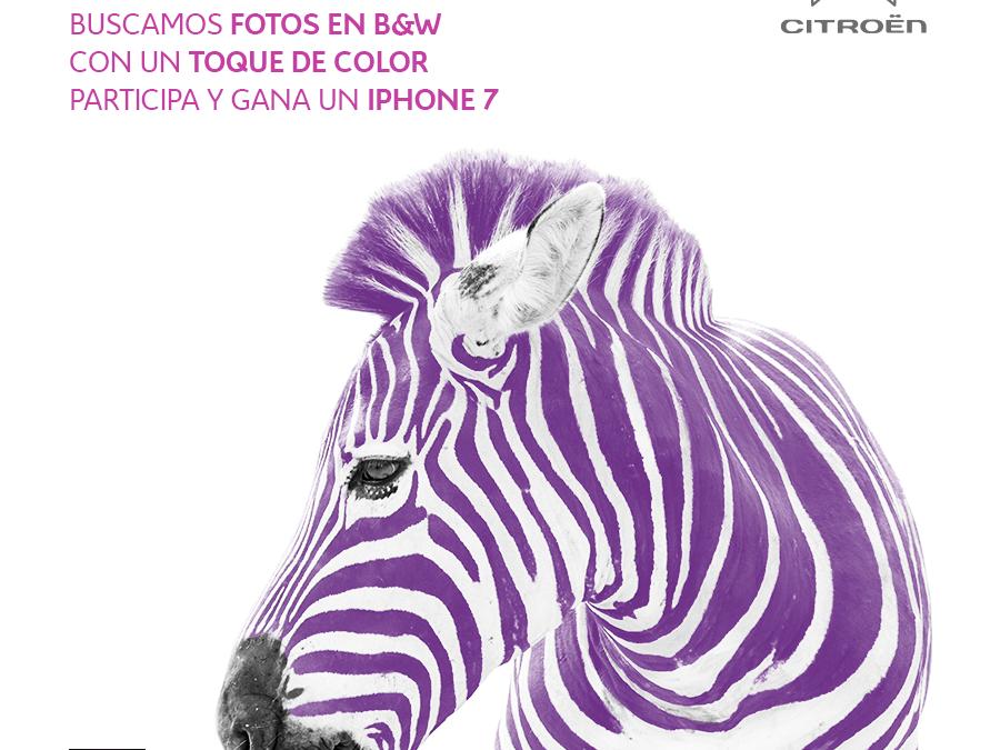 ¡Participa en #ColorterapiaCitroen con @citroenespana y gana un iPhone7!