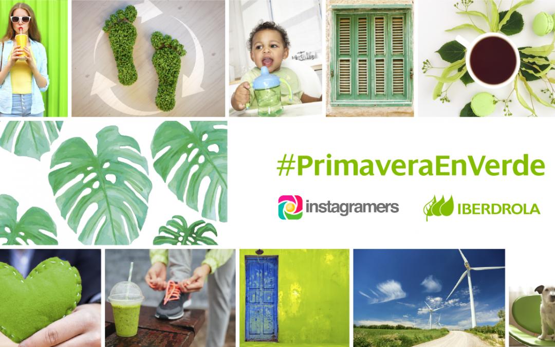 Sube tus fotos #primaveraenverde y gana un iPhone 7 con Iberdrola en Instagram