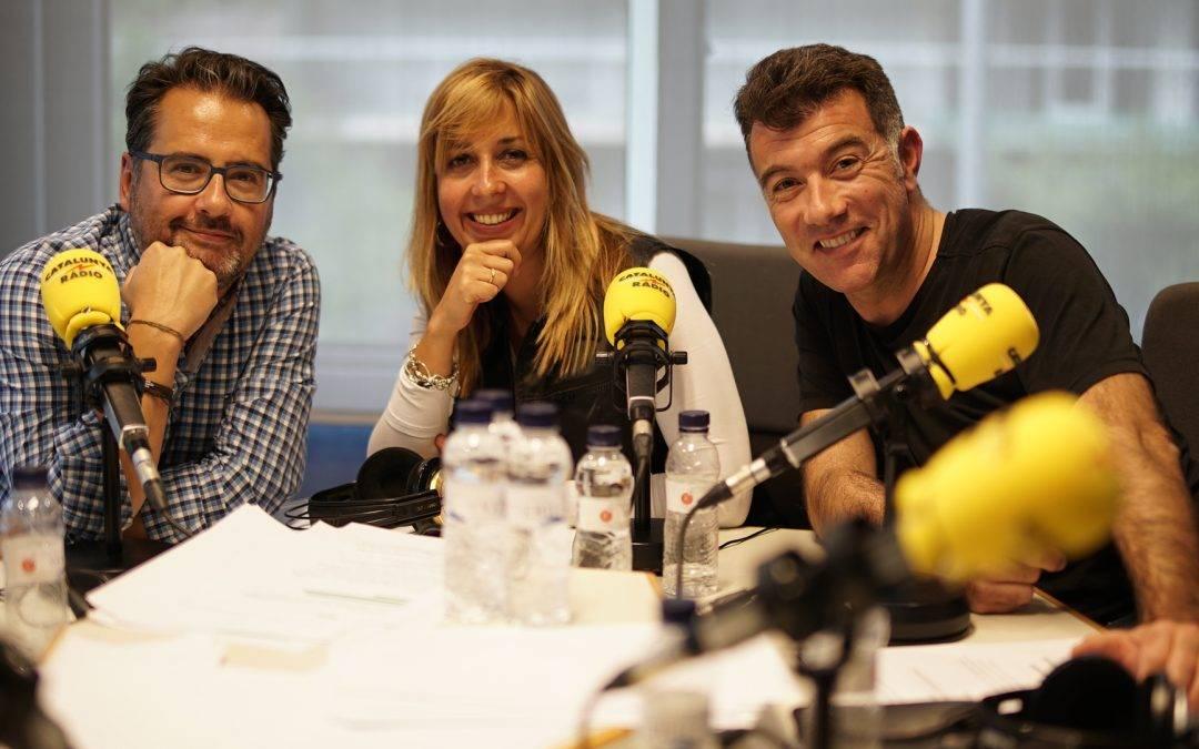 Instagramers en el programa @revolucio4 de Catalunya Ràdio presentado por @XantalLlavina