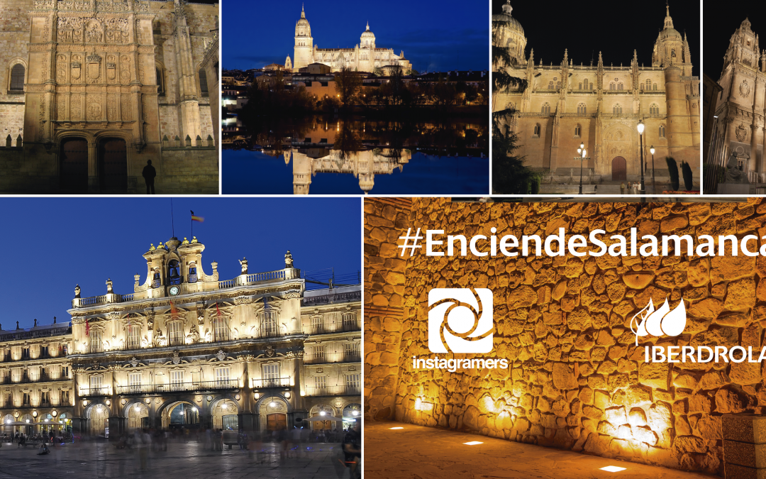 Participa en #EnciendeSalamanca con Iberdrola y celebra el festival de Luz y Vanguardias de Salamanca