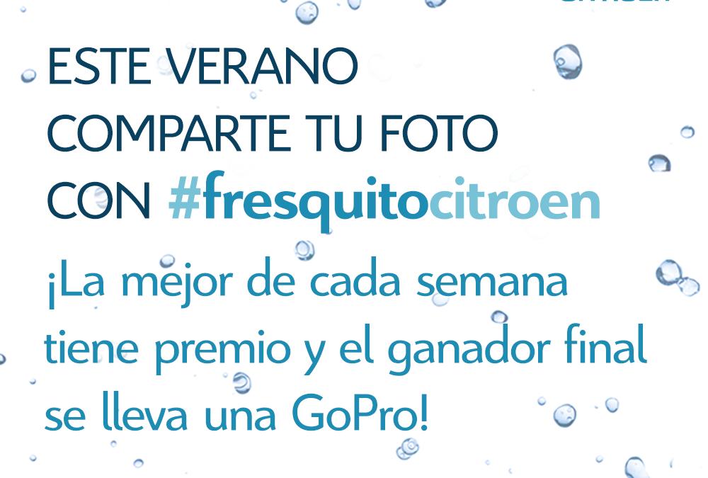 #FresquitoCitroen, refresca tu Instagram este verano y gana premios