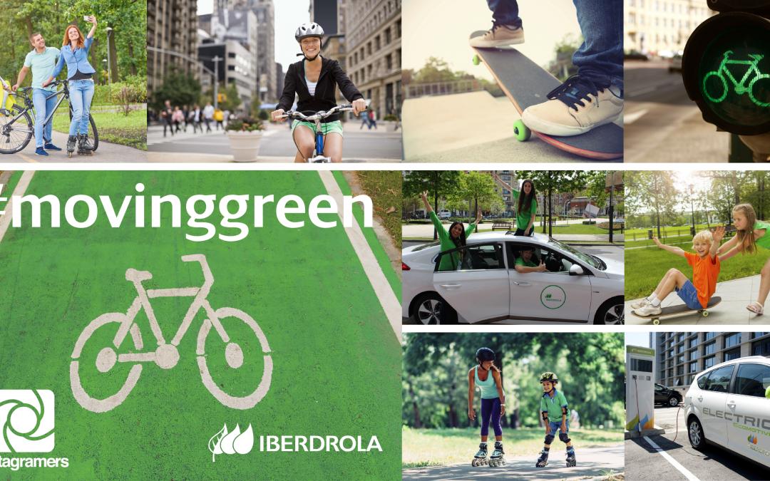 ¡Participa en #Movinggreen y gana fantásticos premios con @Iberdrola!
