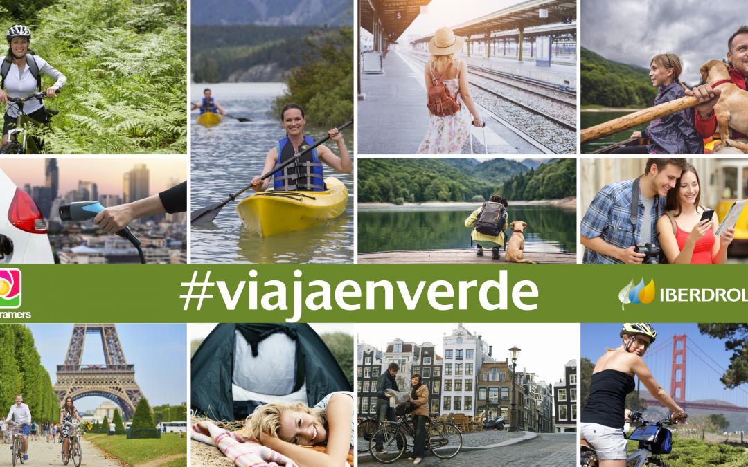 ¡#ViajaEnVerde con @iberdrola y gana fantásticos premios en Instagram!