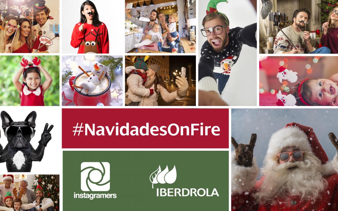 ¡Participa en #NavidadesOnFire de @iberdrola y gana un iPhone 8 en Instagram!
