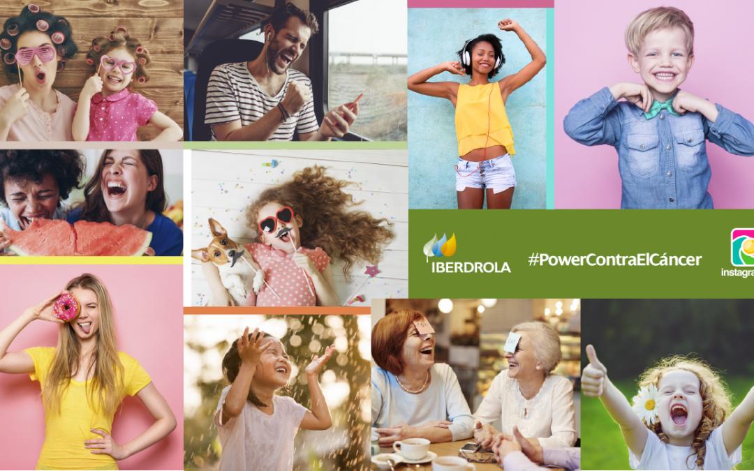 ¡Comparte tus fotos más positivas en #PowerContraElCáncer y gana fantásticos premios con @iberdrola en Instagram!
