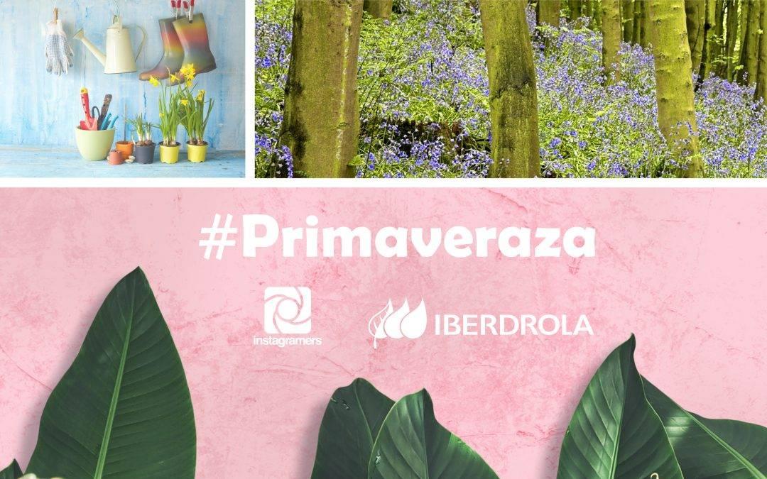 ¡Participa en el concurso #Primaveraza y gana fantásticos premios con @iberdrola en Instagram!