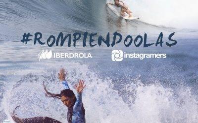 ¡En agosto seguimos #RompiendoOlas! Participa y gana 2 fantásticas tablas de surf con Iberdrola y Garazi Sánchez