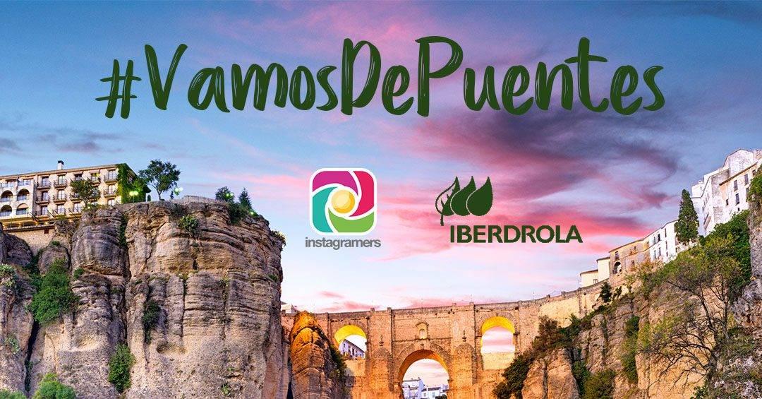 #VamosDePuentes nuevo concurso de Iberdrola en Instagram