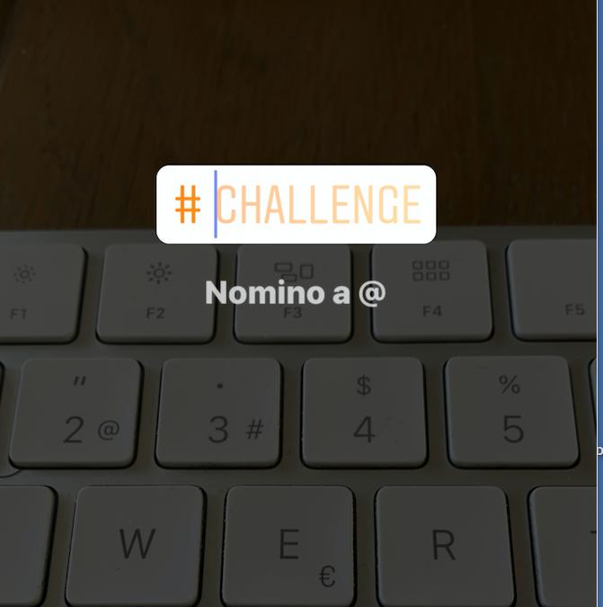NewChallenge Sticker Instagram