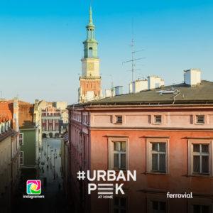 Concurso #urbanpeekathome Ferrovial en Instagram