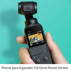 Osmo Pocket DJI - El premio para el gran ganador