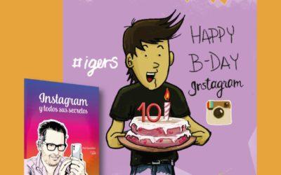 Celebra los 10 años de Instagram y gana el Libro Instagram y Todos Sus Secretos