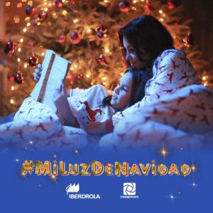 Concurso Iberdrola Instagram Mi Luz De Navidad en familia